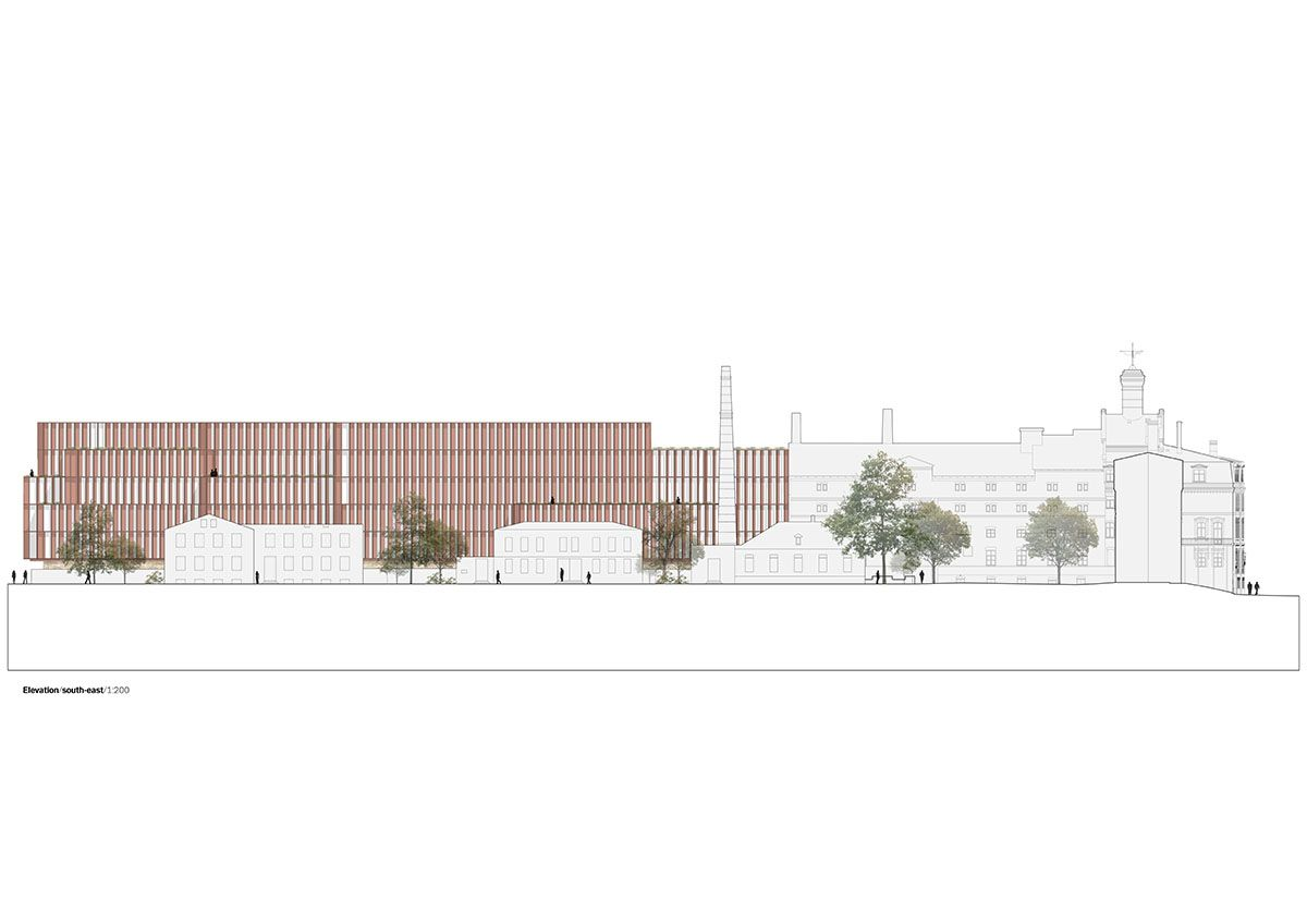 Shl Architects Revives Riga S Former Industrial Beer Brewery Site With Bold Brick Facade Buildings Brick Facade Architect Architecture