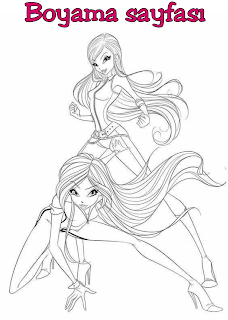 Winx Bloom Boyama Gazetesujin Bloom Art Humanoid Sketch