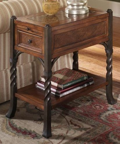 Etonnant Riverside Medley Chairside Table With Twisted Metal Accents By Riverside  Furniture. $431.54. Storage Drawer