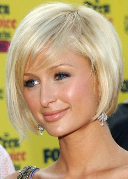 Paris Hilton Bob Hairstyle Cute Short Blonde Bob Cut Short Hair