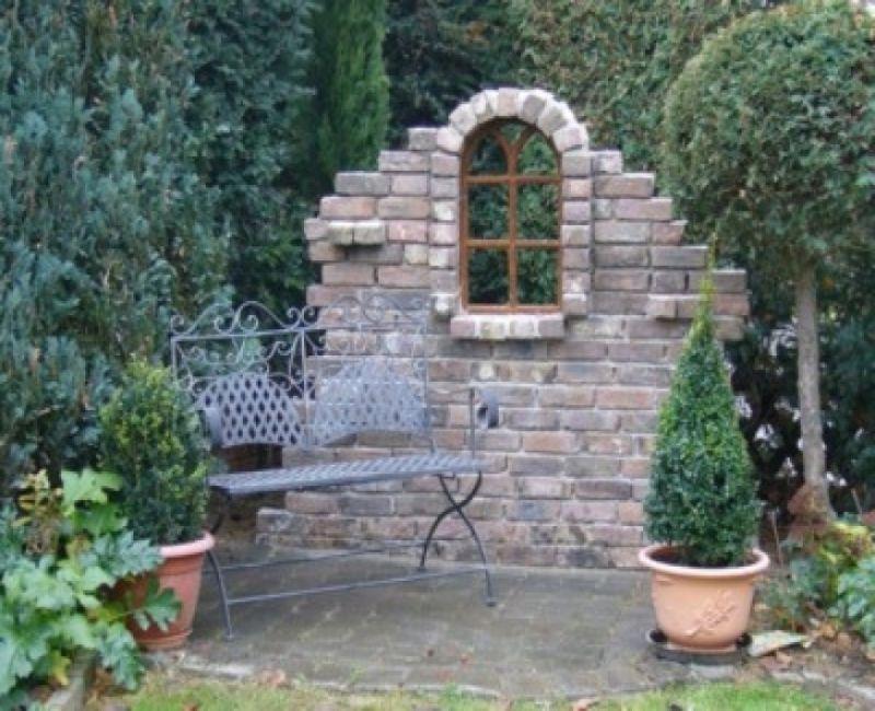 ruinenmauer im garten – new garten ideen, Garten und bauen | Garten ...
