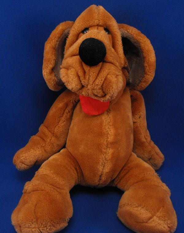 Wrinkles Brown Dog Full Body Puppets Wrinkle Dogs