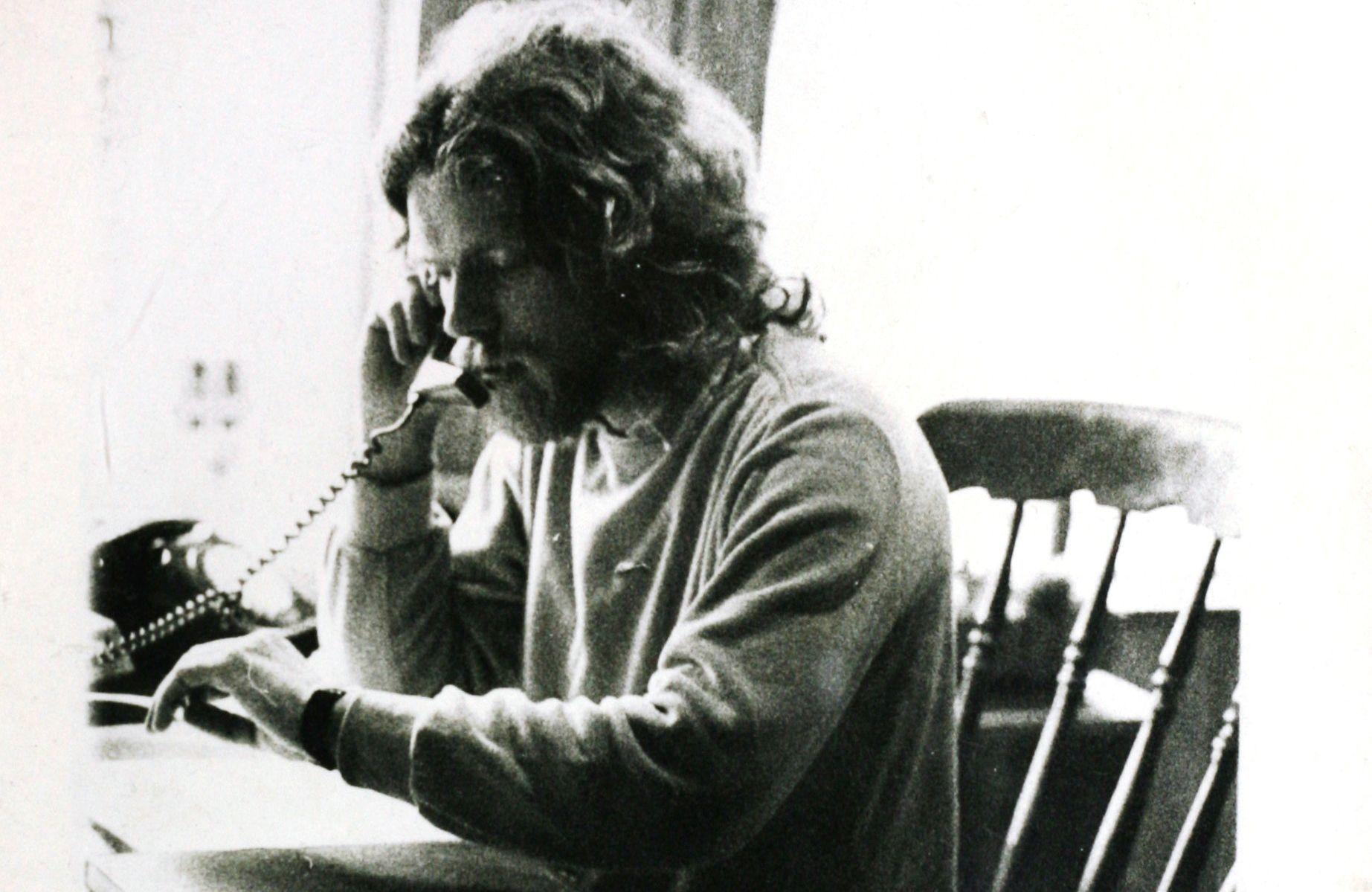 Richard Branson working early days 25 years old, Richard