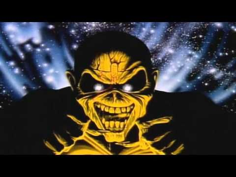 Iron Maiden Wasted Years Official Music Video 1986
