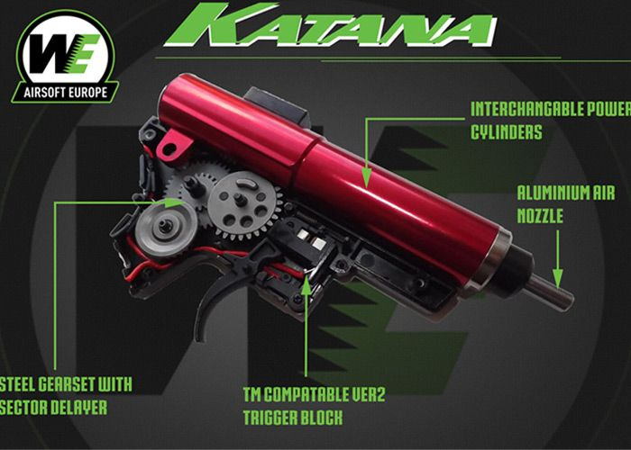 About the WE Katana Gearbox System