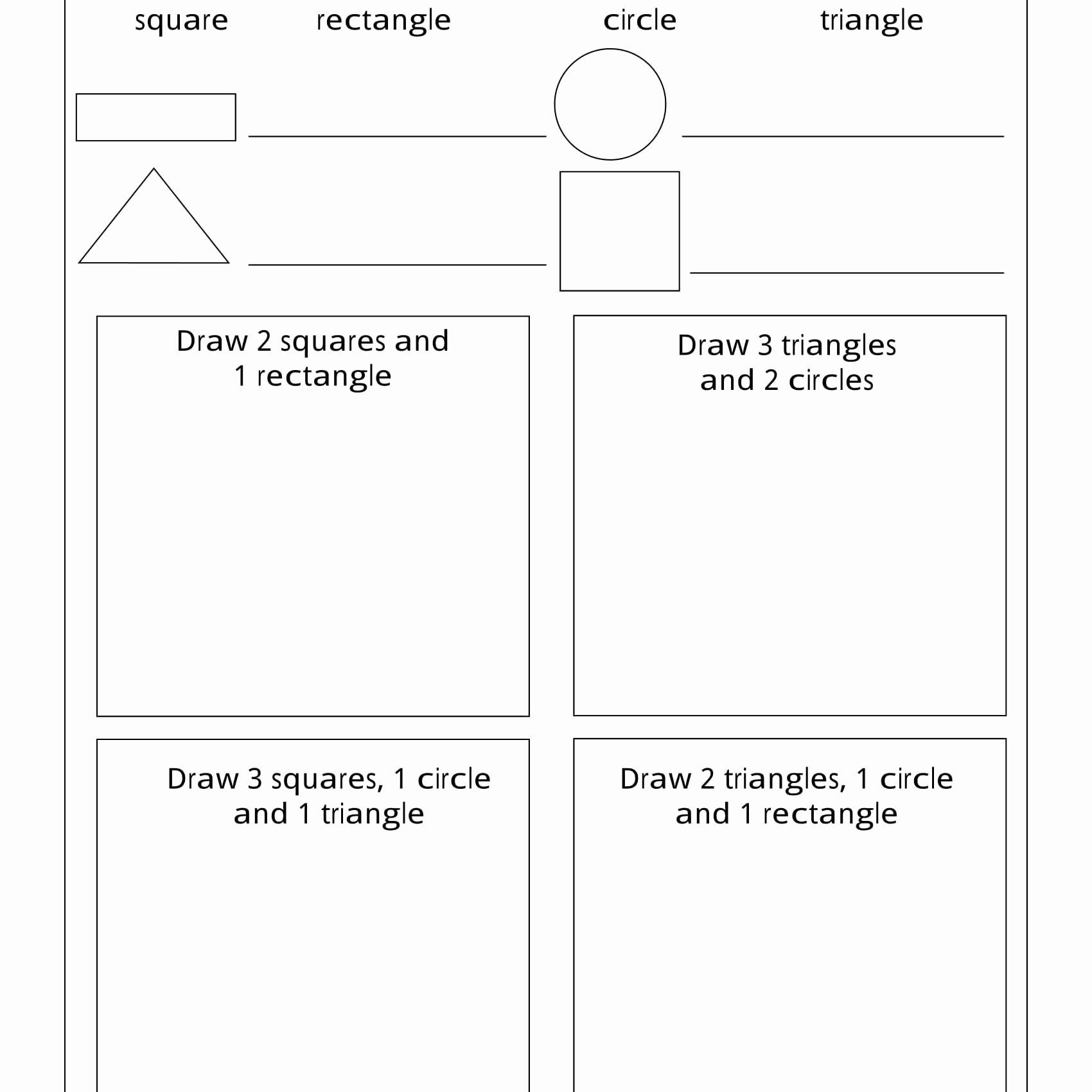 Coloring Activities For Young Learners Inspirational Geometry Worksheets For Students In 1st Grad In 2020 Geometry Worksheets 1st Grade Math Worksheets Math Worksheets