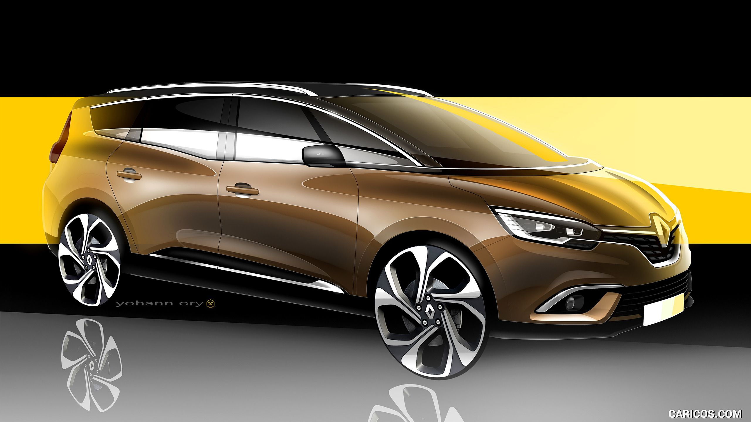 2017 Renault Grand Scenic Wallpaper