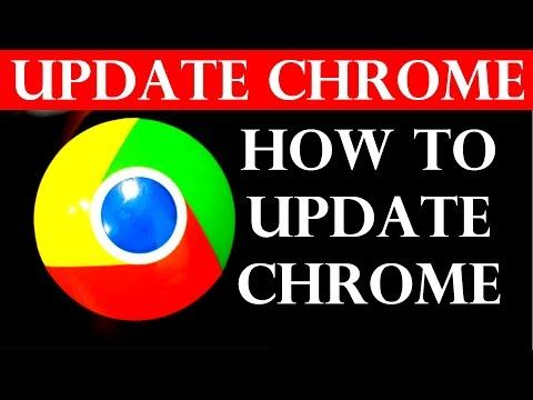 How to update google chrome browser (2019) - YouTube #cybersecurity