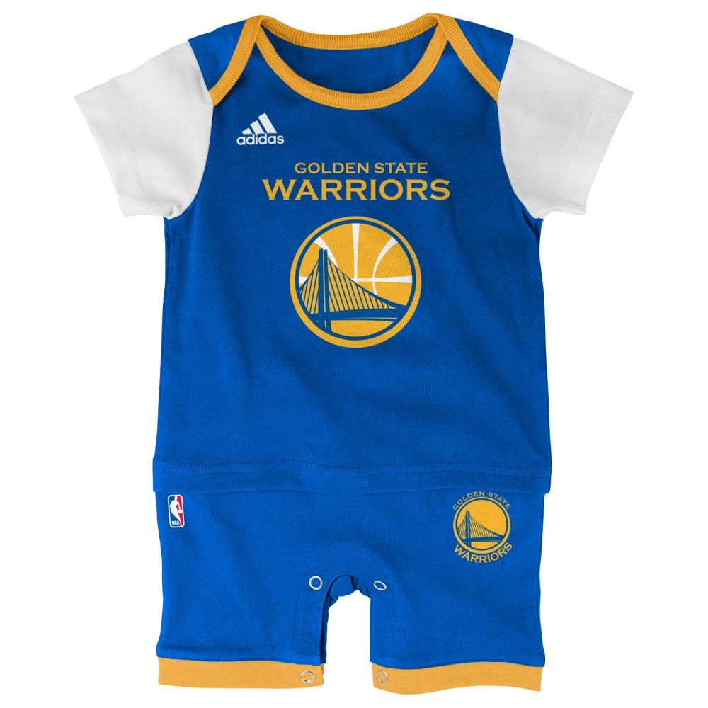 Warriors Basketball Newborn Jersey Romper Warriors