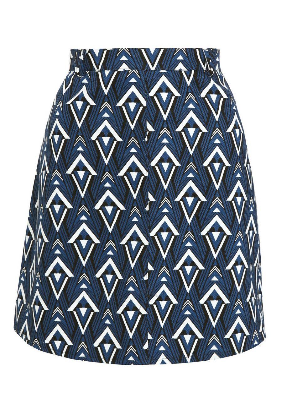 f7af8a2e46bd71 Clothing at Tesco   F&F Diamond Jacquard Mini Skirt > skirts > Women's  Skirts > Women