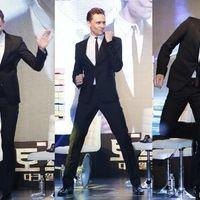 Tom dancing