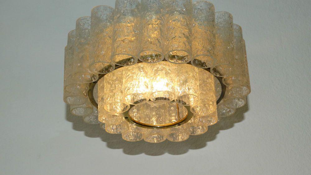 Plafoniere Deckenleuchte : Designer deckenlampe doria plafoniere leuchte lampe glas