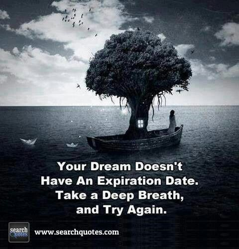 Try Again Until You Succeed You Will Never Fail If You Keep On