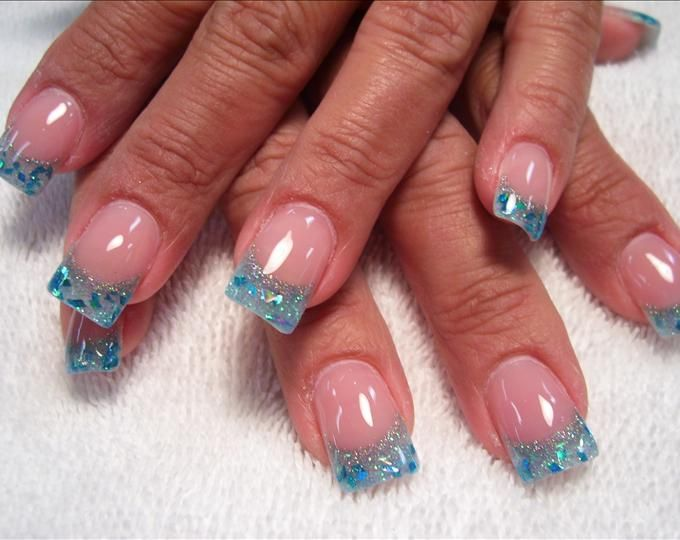 Nail Tip Designs Ideas french tip nails french tip nail designs nail art inspiration Acrylic Nail Designs