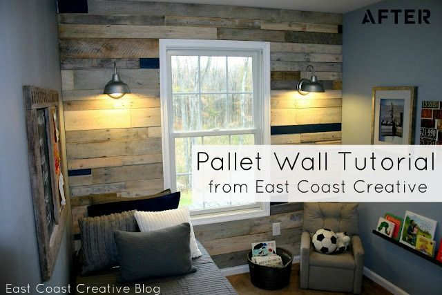 Room Gorgeous Pallet Wall
