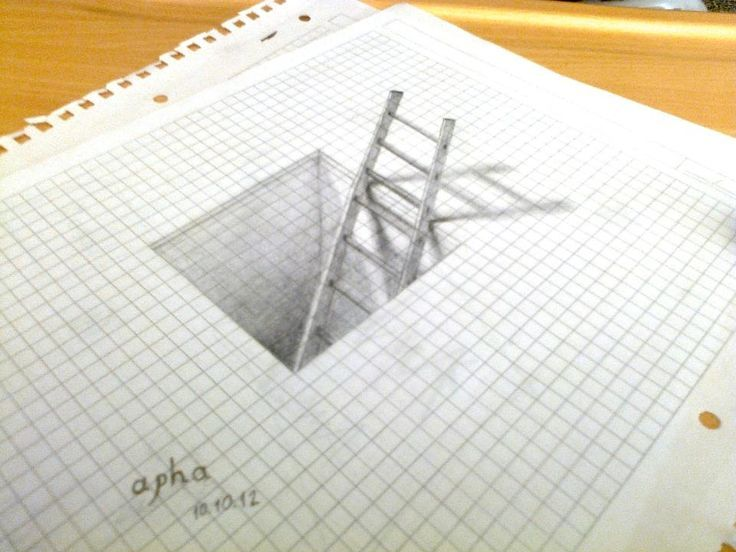 3d drawing by aphaa on deviantART | Sketch it, Paint it ...
