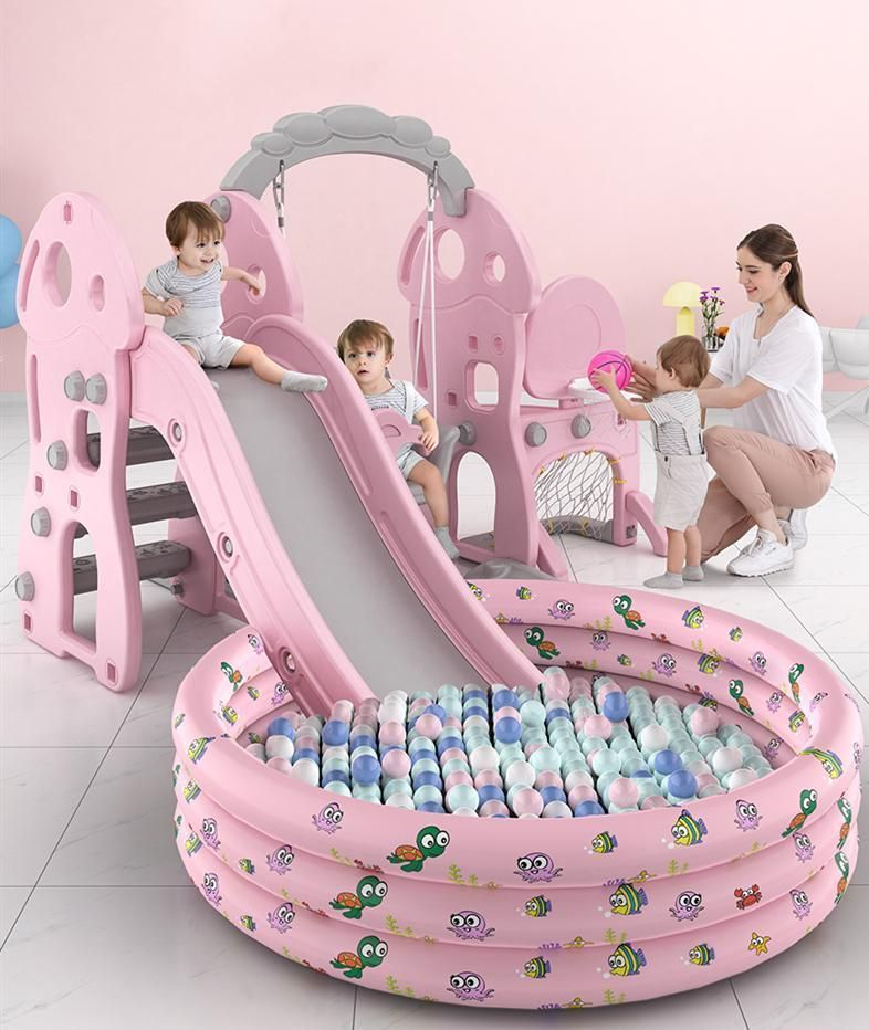 Indoor Children S Swing Small Baby Slide Multi Functional Children S Household Combination Toy Baby Slide Childrens Swings Baby Climbing Toys