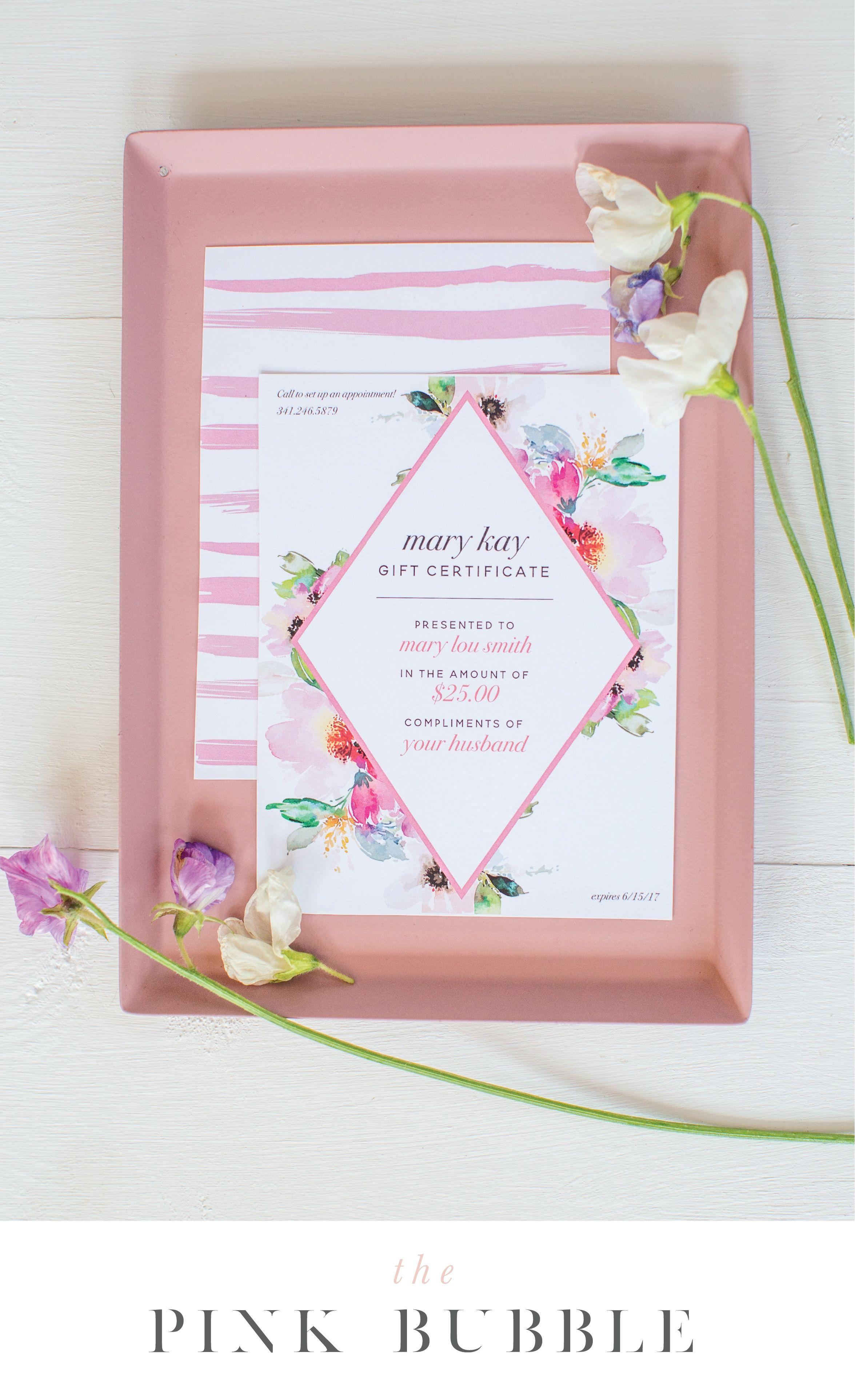 Customizable Mary Kay Printable