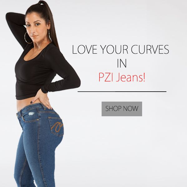 19ff76f3b71 Love Your Curves in PZI Jeans. Available in sizes 4-18; short-extra ...