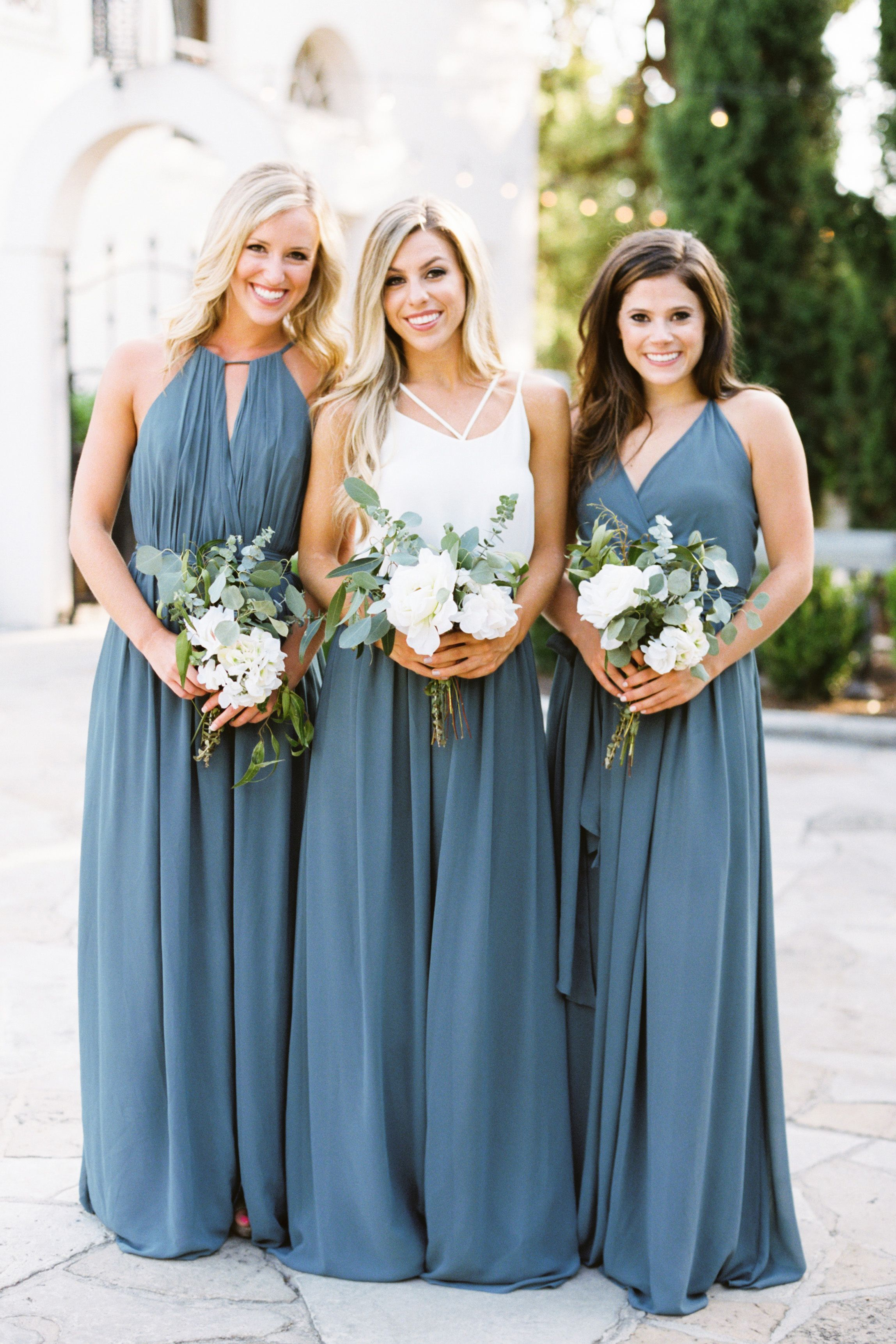 Revelry Bridesmaid Dresses And Separates Is A Collection Of Wear Ag Dusty Blue Bridesmaid Dresses Bridesmaid Dresses Separates Wedding Bridesmaids Dresses Blue