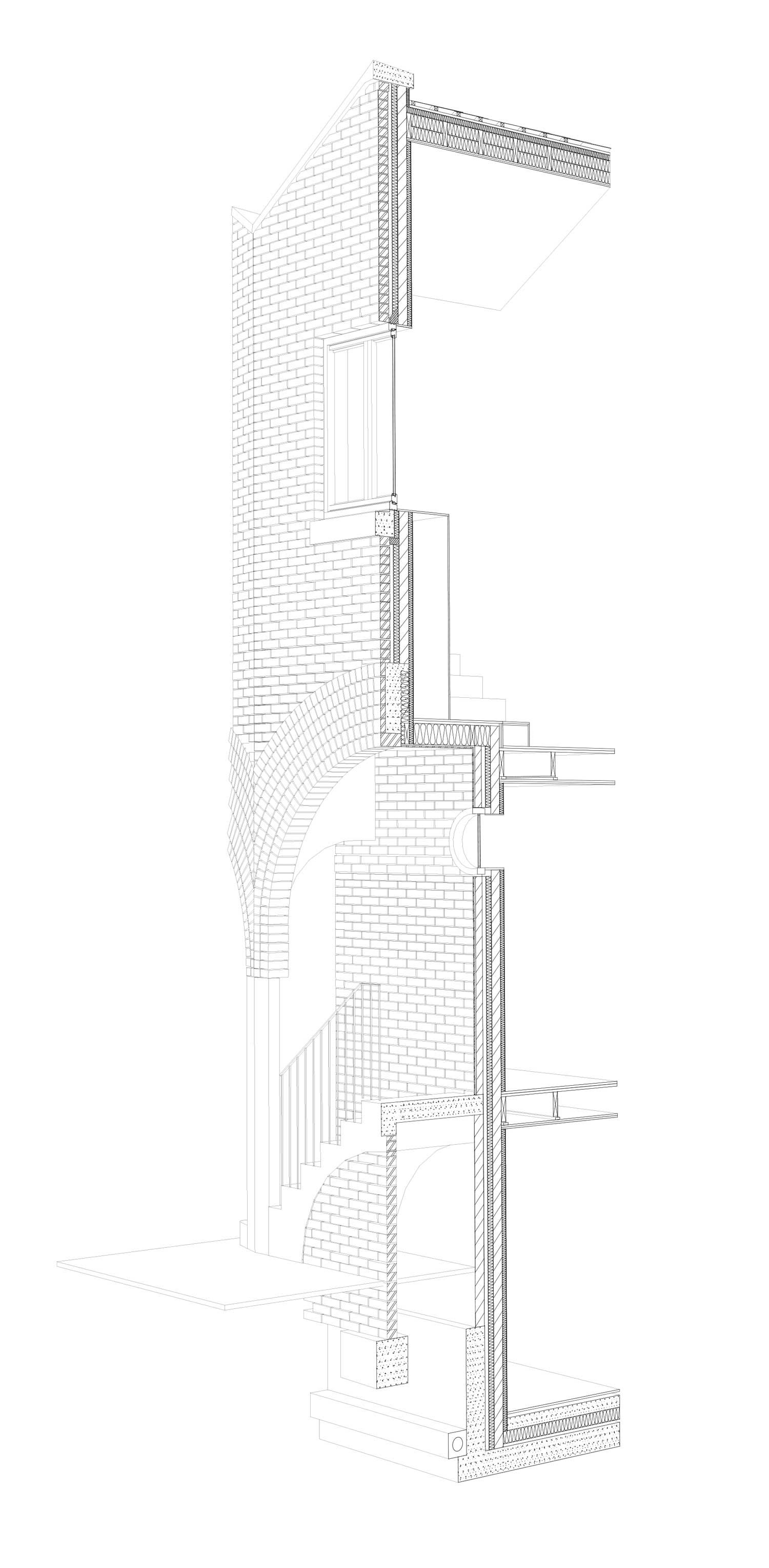 Tectonics Architectural Section Architecture Drawing Diagram Architecture