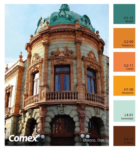 Comex / El Color De Oaxaca