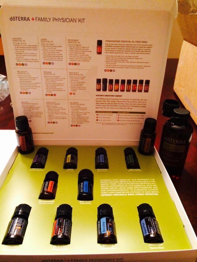 Doterra family physician kit! Essential oils Pinterest