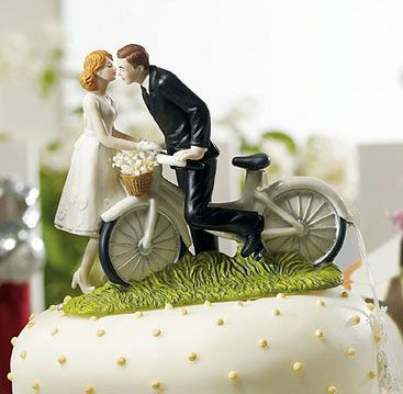 Pastel De Bodas Bicicletas