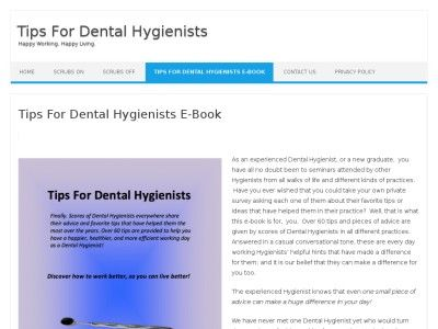 Dental Hygienists Help Other Hygienists - Have a Better Work Day!