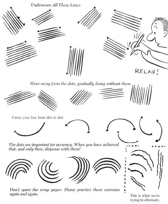 Cartooning Exercises for Beginners …   Animation in 2019…