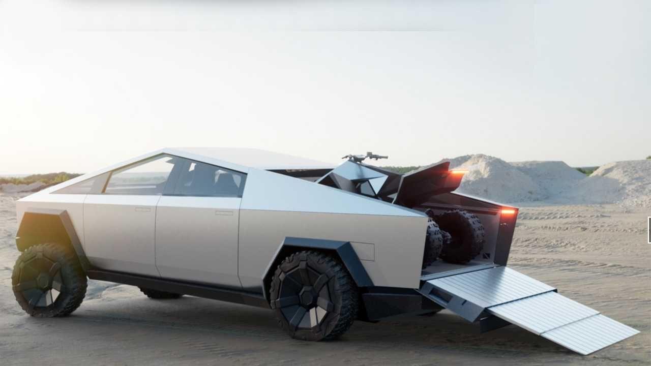 Awesome Tesla Cybertruck Kleinere Version Konnte Passieren Sagt Elon Musk Electric Pickup Truck Electric Pickup Tesla
