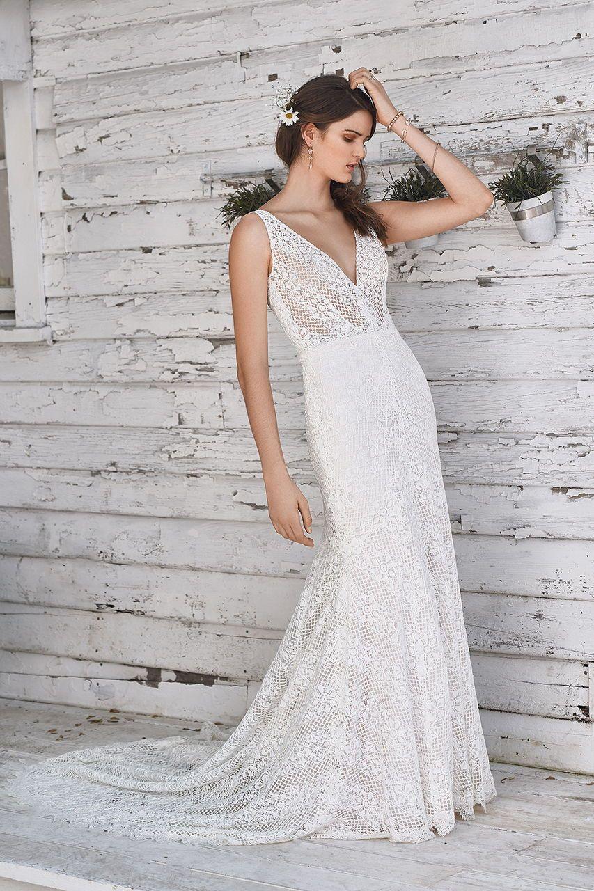 Lace off shoulder wedding dress august 2019 Wedding Gown Gallery  Weddings  Pinterest  Wedding dresses