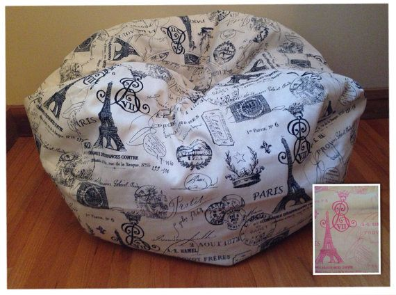 Paris bean bag chair - Paris Bean Bag Chair For The Little One Pinterest Bean Bag