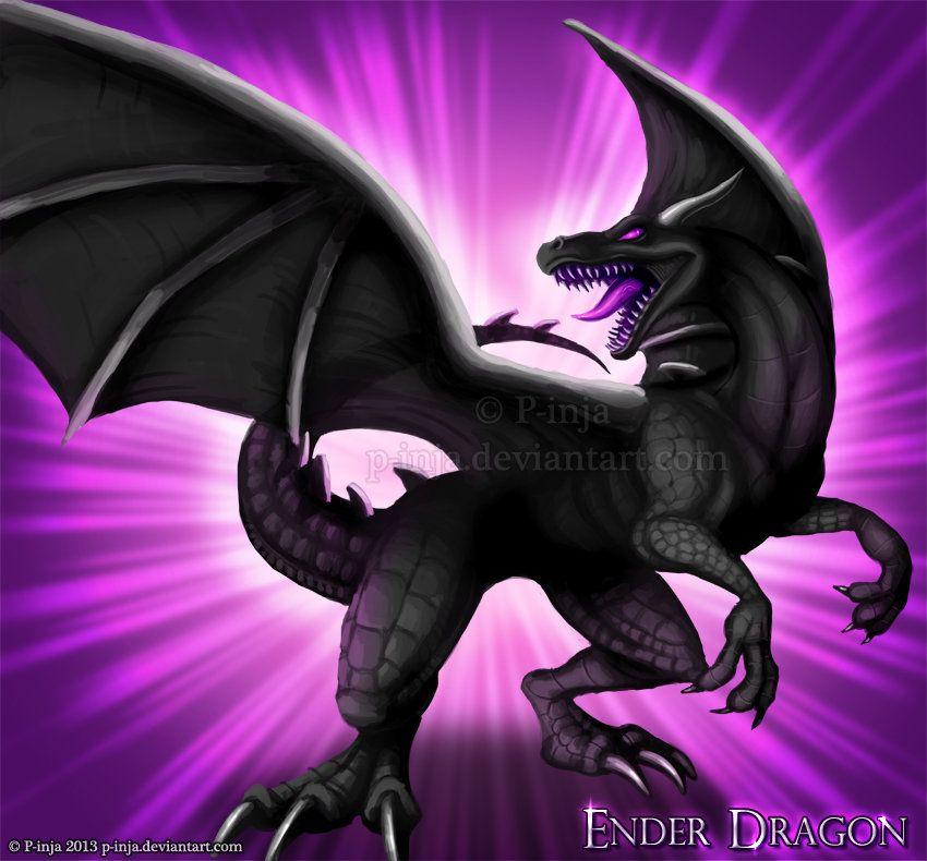 Amigurumi Ender Dragon : Ender Dragon by MustaPantteri.deviantart.com on ...