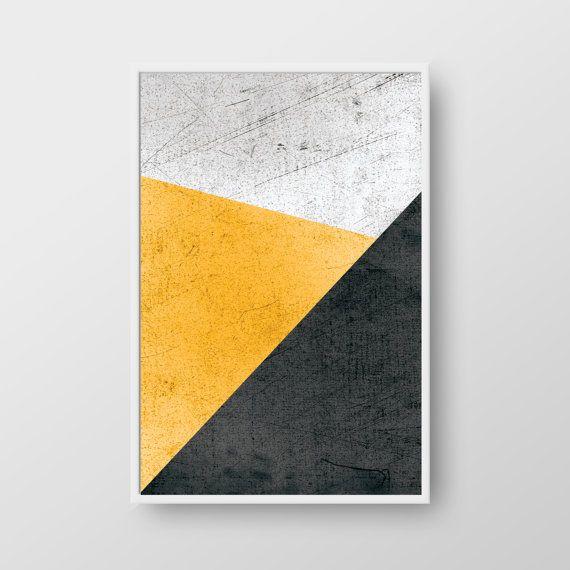 Printable Geometric Wall Art, Geometric Print, Scandinavian Print ...