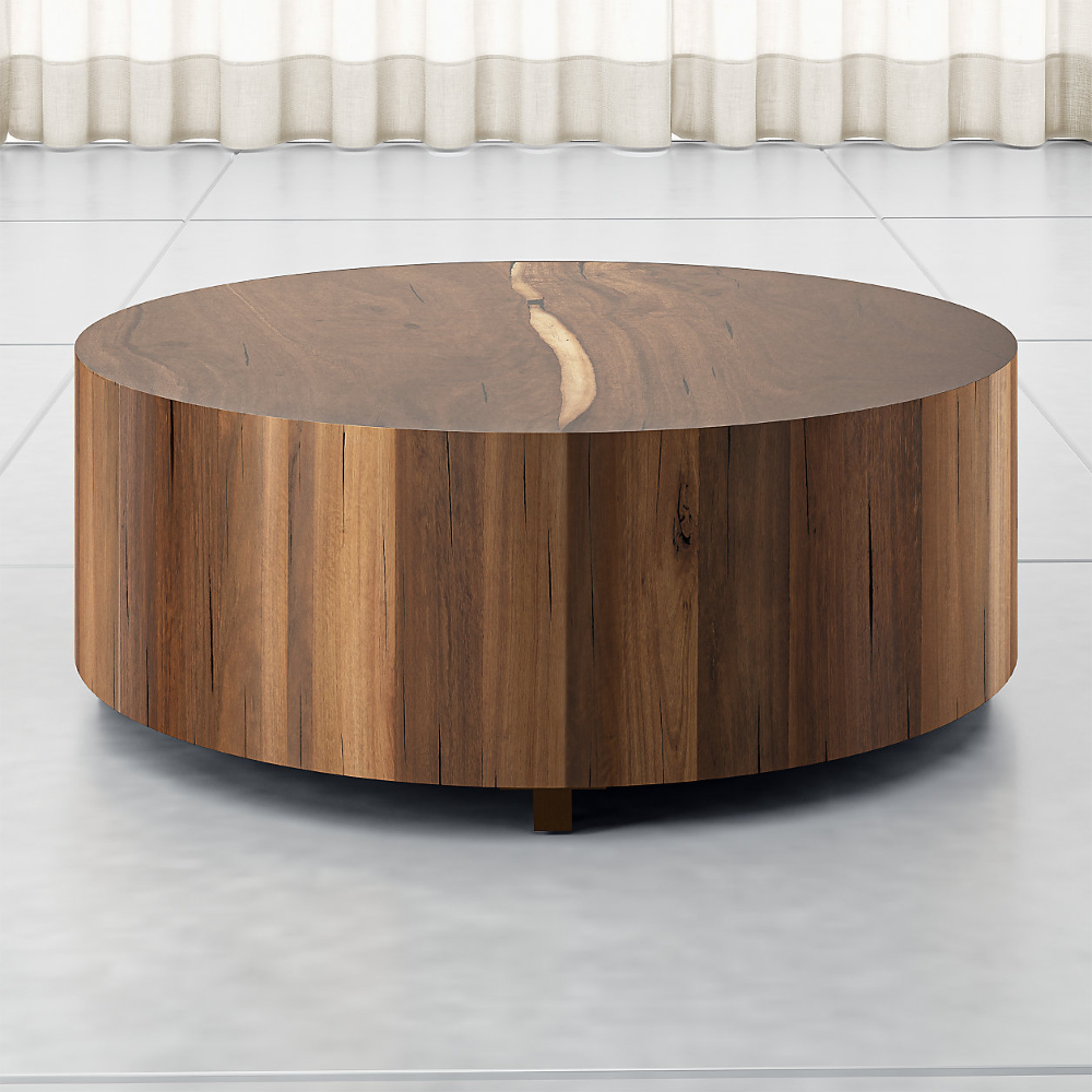 Dillon Natural Yukas Round Wood Coffee Table Reviews Crate And Barrel Coffee Table Wood Drum Coffee Table Round Wood Coffee Table [ 1000 x 1000 Pixel ]