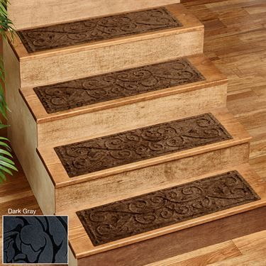 Scroll Impressions Indoor Stair Treads Set Of Four