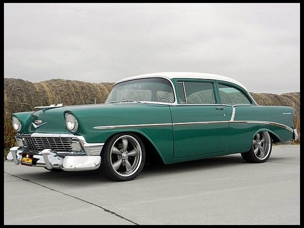 This Is The Exact Car And Color I Had In High School 1956 Chevy