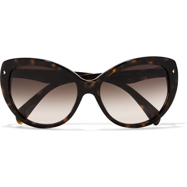 e42ff8872b561 ... where can i buy prada d frame acetate sunglasses 190 liked on polyvore  featuring accessories 0bdc8