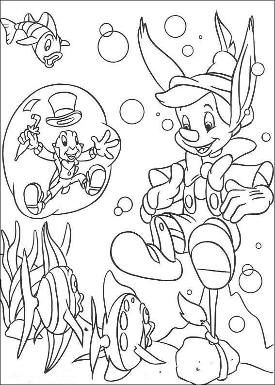 Tegninger til Farvelægning Disney 133 | Abc | Pinterest | Dibujos ...