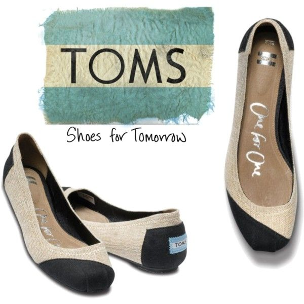burlap and black Toms- LOVE! This is on the BurlapBabe christmas list ;)