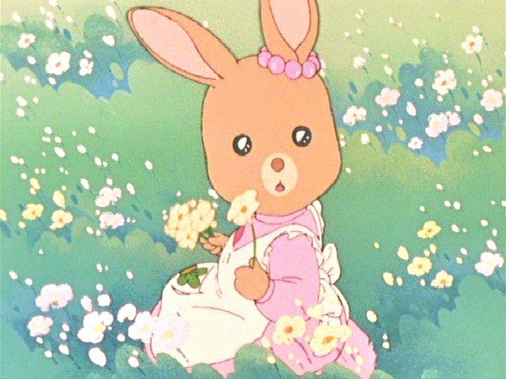 メイプルタウン物語 Ruru On The Roof Cute Art Aesthetic Anime Vintage Cartoon