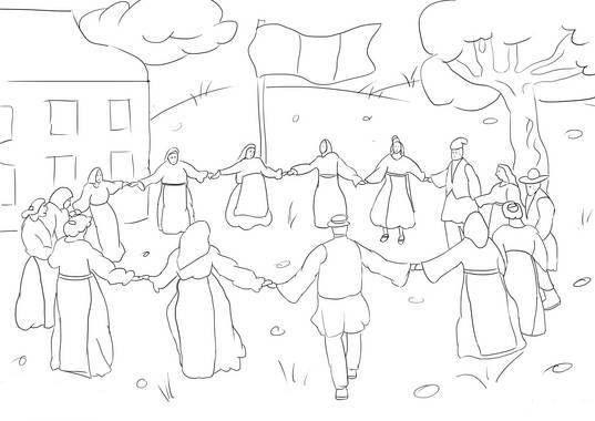 Mica Unire Imagini De Colorat Romani Desene și Picturi
