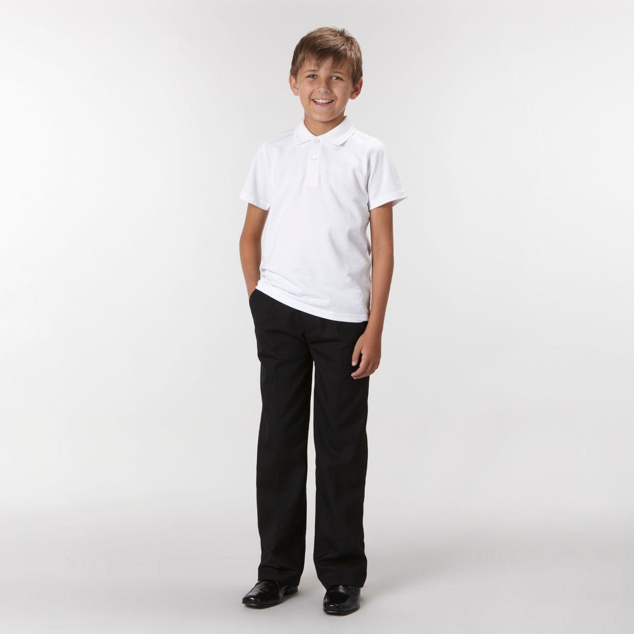 Debenhams Boy's pack of two white school uniform polo shirts- at Debenhams.com