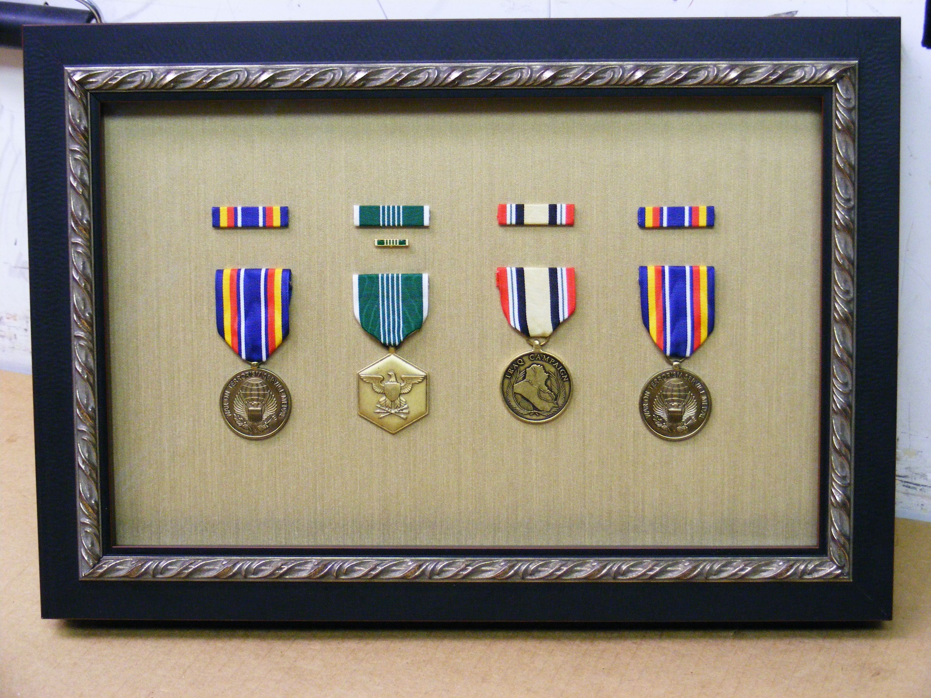 Military Medals Framing