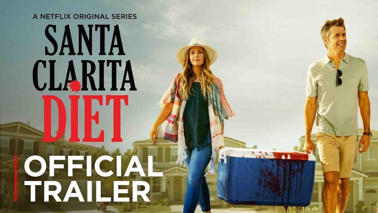 Cool Santa Clarita Diet Official Trailer Netflix Santa Clarita Diet Shows On Netflix Netflix