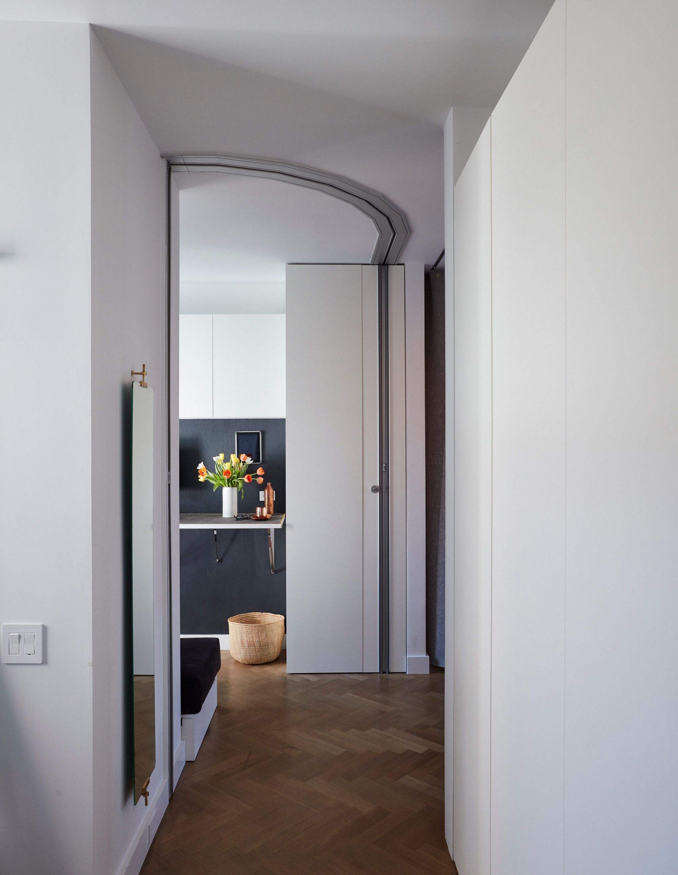 """Tiny New York apartment by Graham Hill """"functions like one"""