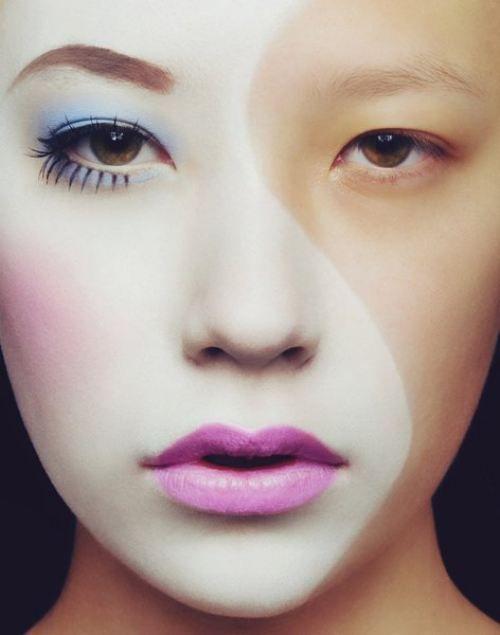 aw man, geisha yin yang.