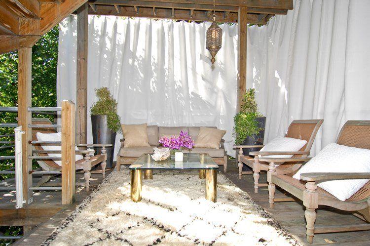 40 Idees De Pergola Avec Rideaux Moderne Dans Le Jardin Pergolas