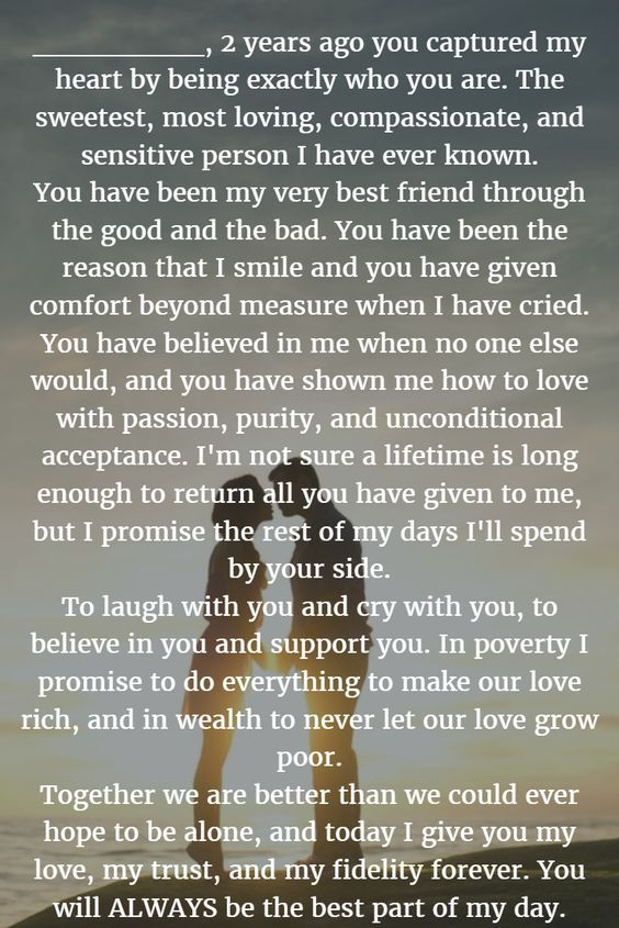 22 Examples About How to Write Personalized Wedding Vows - WeddingInclude